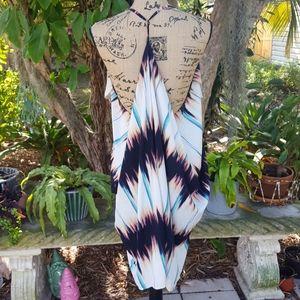 Anthropologie Ark & Co. T-back dress